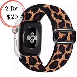 Leopard Print Sport Loop Band for Apple iWatch